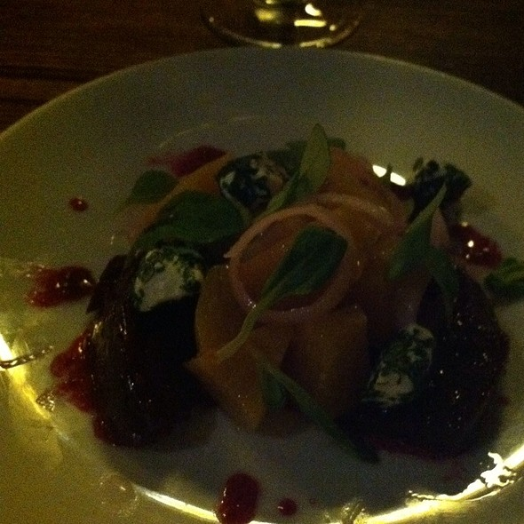 Beets and Goat Cheese - Alobar Restaurant, Long Island City, NY