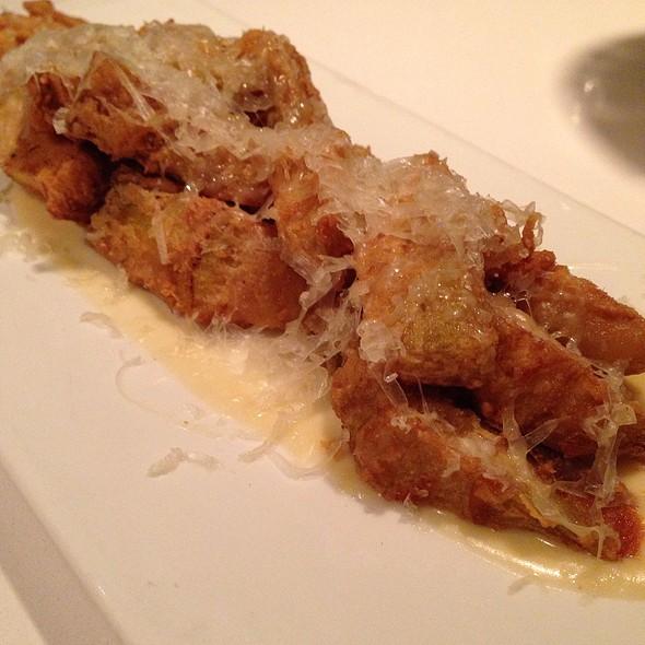 Fried Artichokes With Cheese - Andanada, New York, NY
