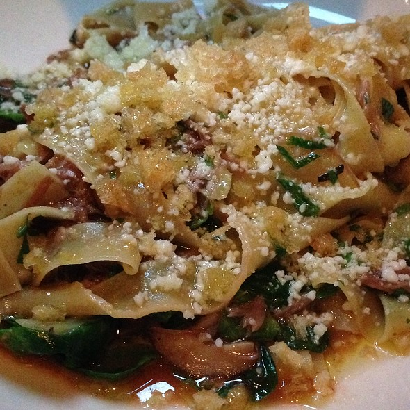 Tagliatelle With Pork And Brussels Sprouts - In Riva, Philadelphia, PA