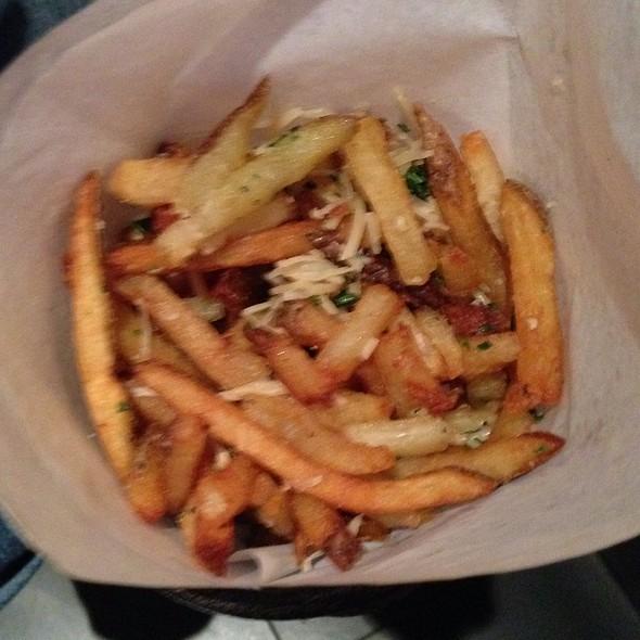Hand cut truffle fries - Victory Tavern, Dallas, TX