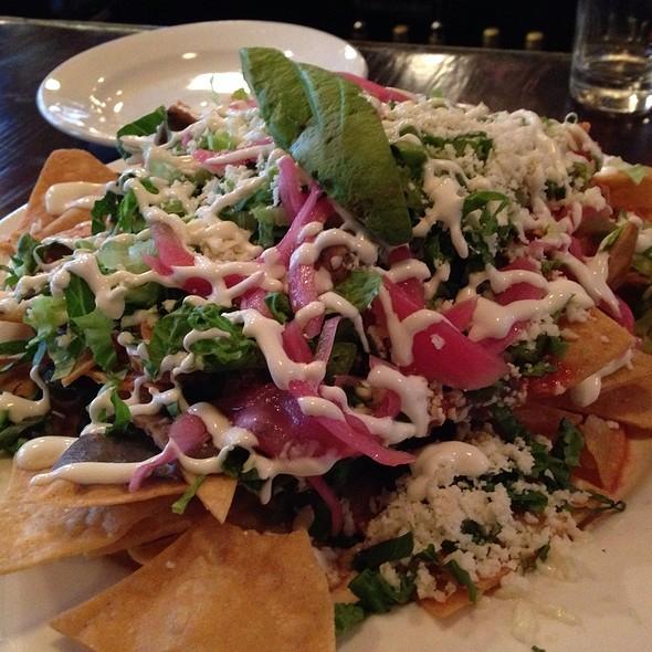 Chicken Tinga Nachos - Perch Pub, Philadelphia, PA