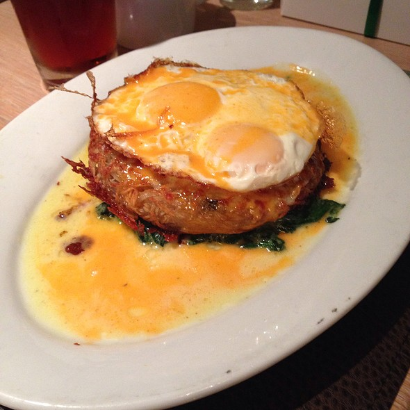 Pork hash brown - MET Back Bay, Boston, MA