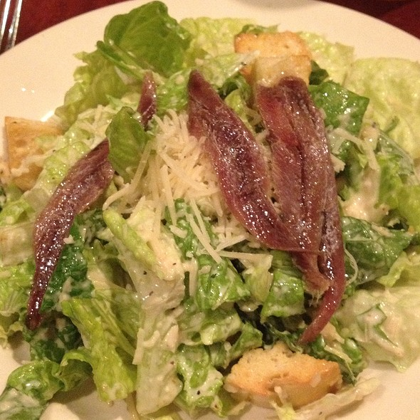 Caesar Salad with Anchovies - Mitchell's Fish Market - Waterfront - Pittsburgh, Homestead, PA