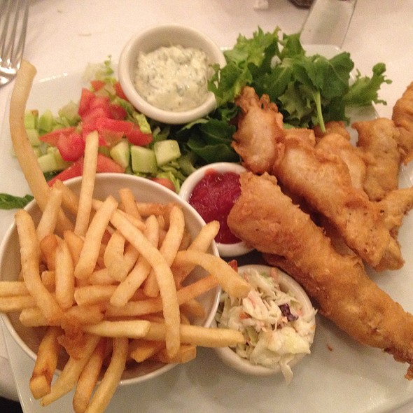 Fish and Chips - Freds Beverly Hills at Barneys New York, Beverly Hills, CA