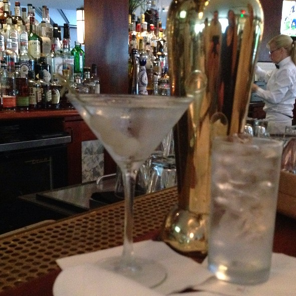 Tito's Handmade Vodka Martini - Wolfgang's Steak House - Waikiki Beach, Honolulu, HI