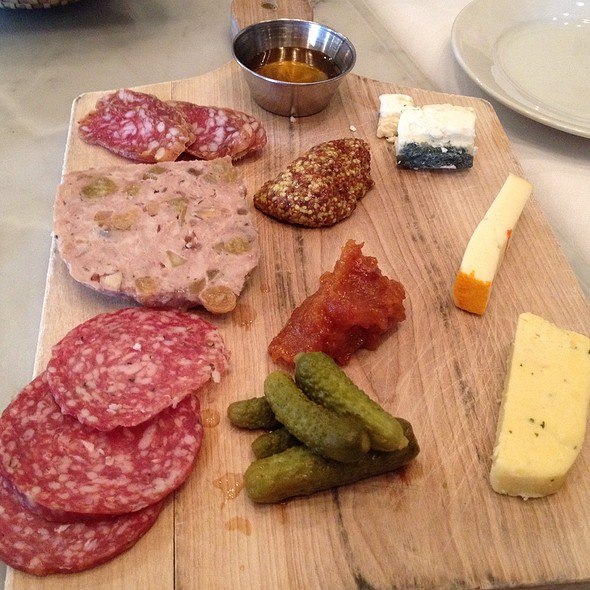 Plateau De Charcuterie & Fromage - Coquette Brasserie, Raleigh, NC