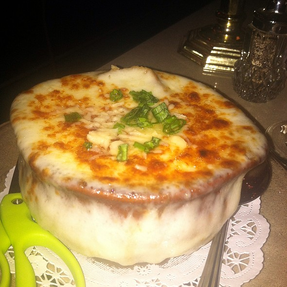 French Onion Soup - Vera Mae's Bistro, Muncie, IN
