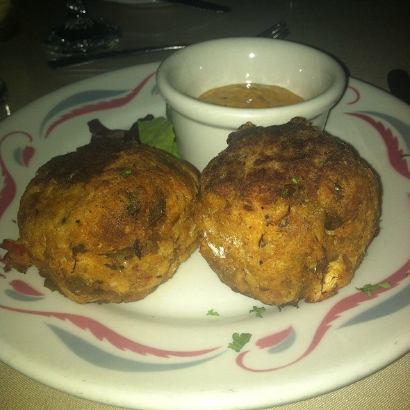 Crab Cakes - Vera Mae's Bistro, Muncie, IN