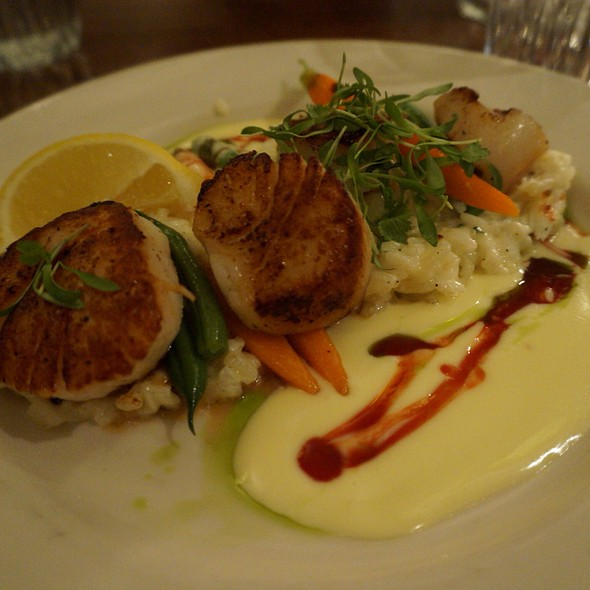 Seared Diver Scallops - Gar Woods Grill and Pier Restaurant, Carnelian Bay, CA