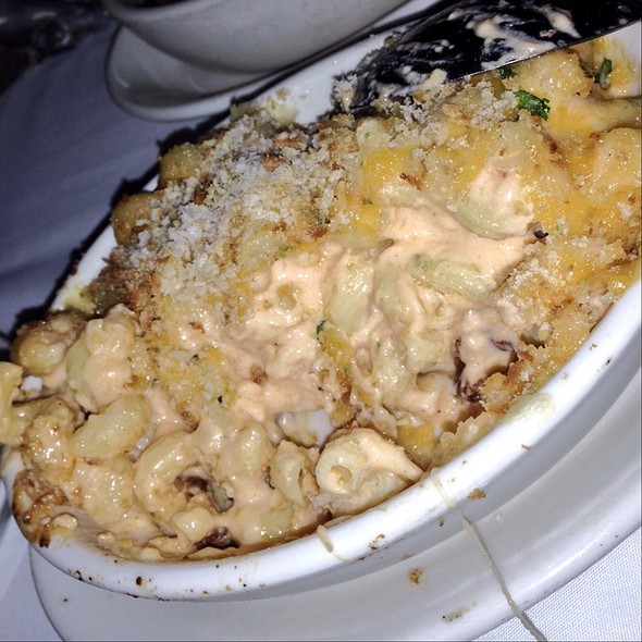 Bacon And Onion Macaroni & Cheese - Morton's The Steakhouse - Santa Ana, Santa Ana, CA