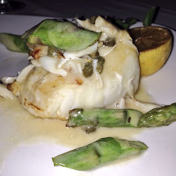 Seabass Topped With Jumbo Lump Crab - Morton's The Steakhouse - Santa Ana, Santa Ana, CA
