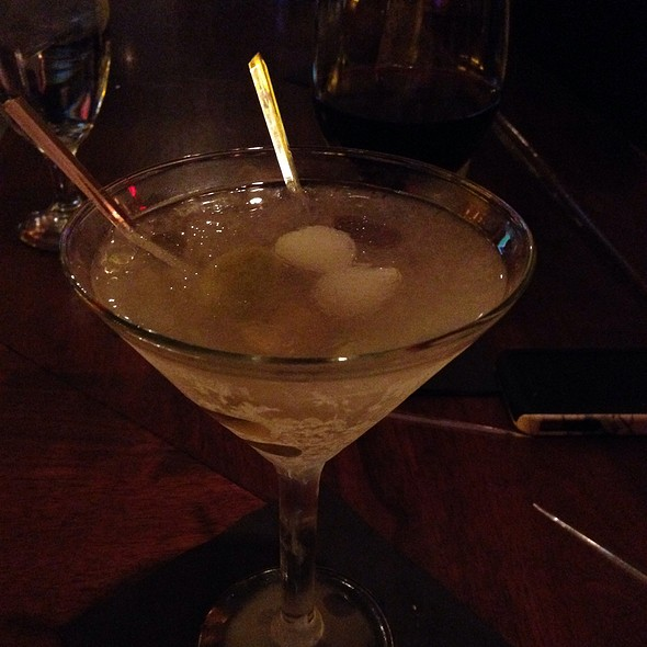 Dirty Martini - Cameron's Steakhouse - Birmingham, Birmingham, MI