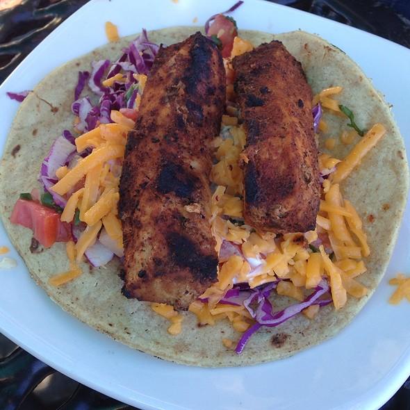 Grilled Swordfish Taco - Brigantine Del Mar, Del Mar, CA