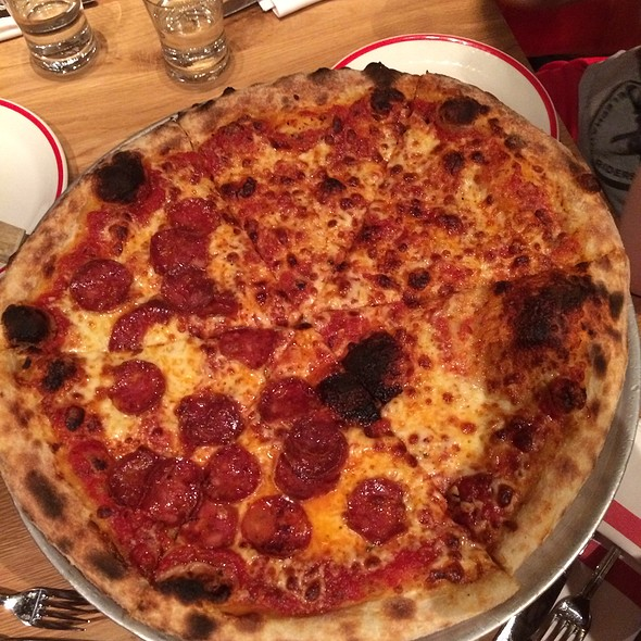 Half Pepperoni/Half Cheese Pizza - Five50 - Aria, Las Vegas, NV