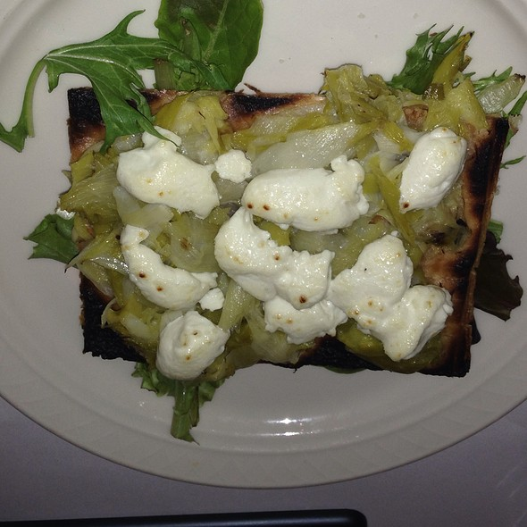 leek tart - East of Eighth Restaurant, New York, NY