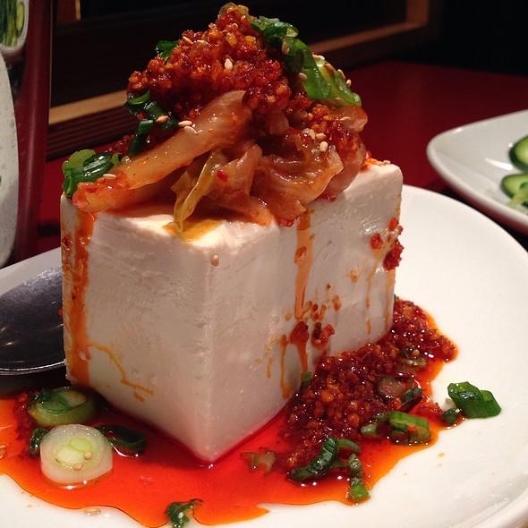 Cold Tofu Apetisser - Gyu-Kaku - Tustin, Tustin, CA