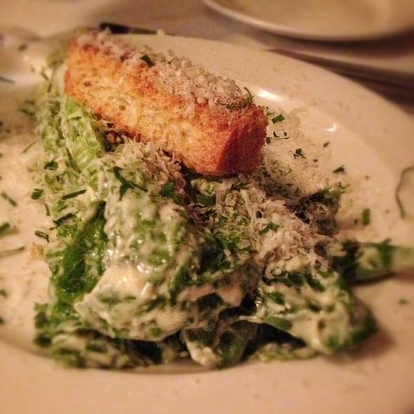 Ceaser Salad With Anchovies - Mamma Maria, Boston, MA