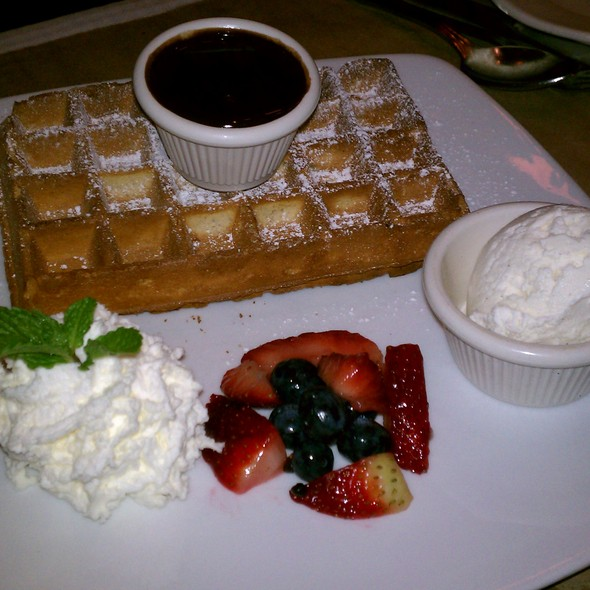 Belgium Waffle - B. Cafe West, New York, NY