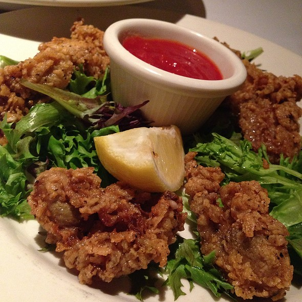 fried oysters - Old Ebbitt Grill, Washington, DC