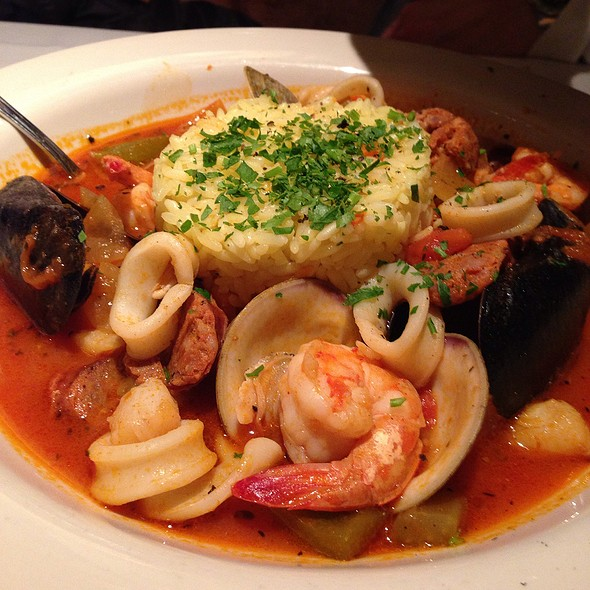 Seafood Jambalaya - Old Ebbitt Grill, Washington, DC