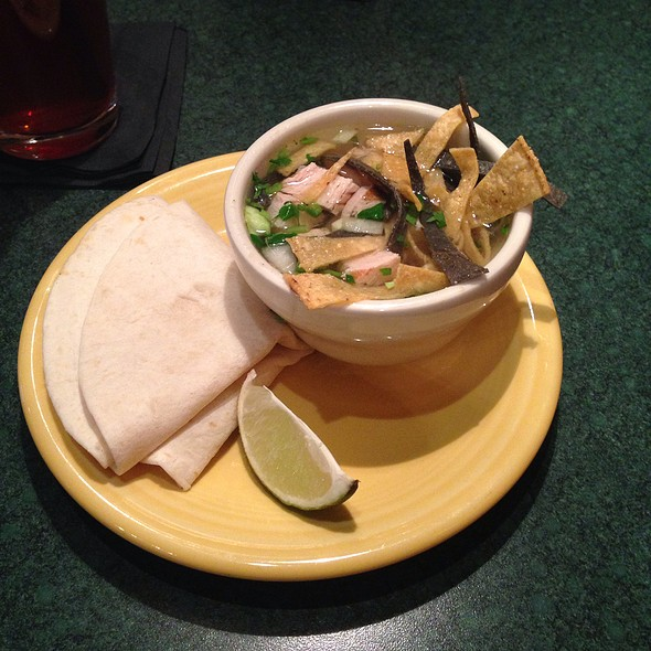 Chicken Tortilla Soup - Stokes Grill and Bar - Old Market, Omaha, NE