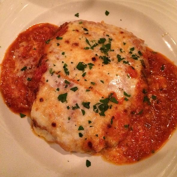 Veal Parmagiana - Nanni Restaurant, New York, NY