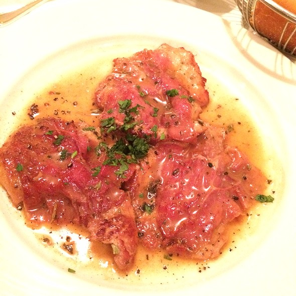 Veal With Sage And Prosciutto - Nanni Restaurant, New York, NY