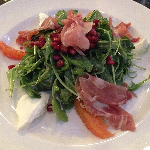 Arugula Salad With Pomegranate, Cara Cara Oranges, And Ham - Citizens Band, San Francisco, CA