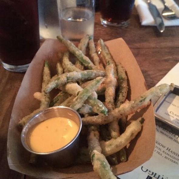 Crispy Green Beans - Contigo Austin, Austin, TX