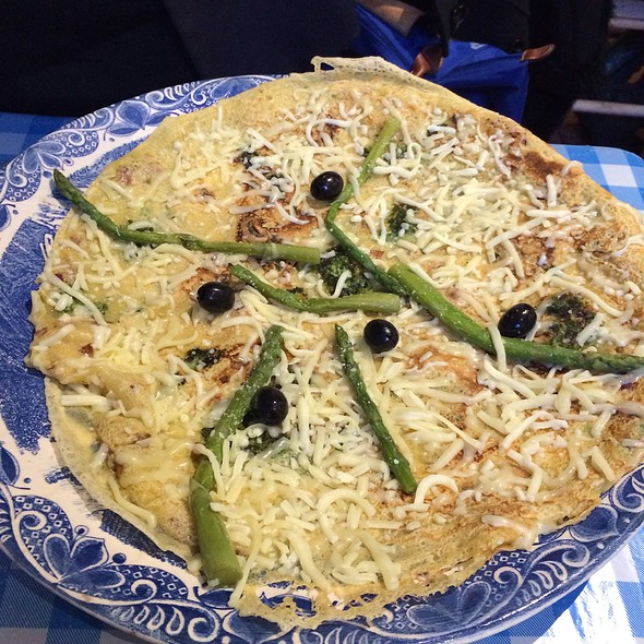 Asparagus Pancake - My Old Dutch - Holborn, London