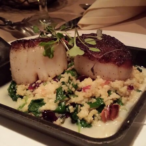 Seared Diver Sea Scallops - Bridget's Steakhouse, Ambler, PA