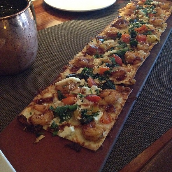 Chipotle Shrimp Flatbread - Seasons 52 - Plano, Plano, TX