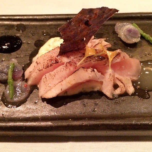 Yellowtail Shashimi - Asiate, New York, NY