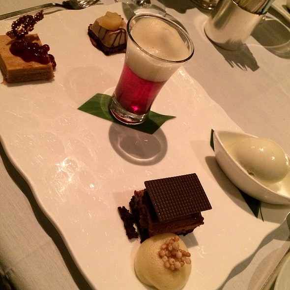Desserts - Asiate, New York, NY