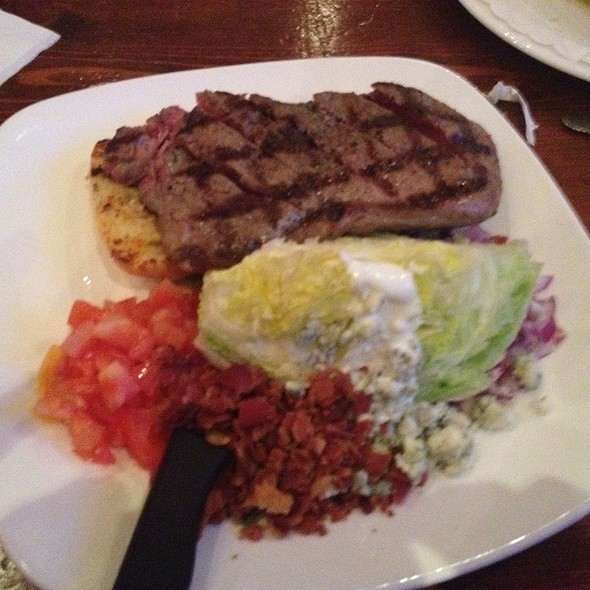New York Steak Wedge Salad - Connolly's Pub and Restaurant - 45th, New York, NY