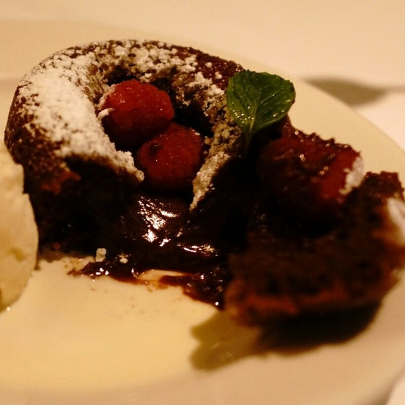 Molten Lava Cake - Morton's The Steakhouse - Hong Kong, Kowloon, Hong Kong
