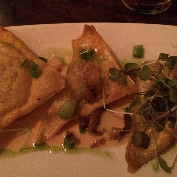 Duck Dumplings - Masona Grill, West Roxbury, MA