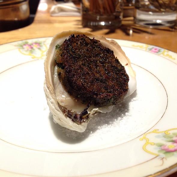 Oysters Rockefellar - Hugo's Restaurant, Portland, ME