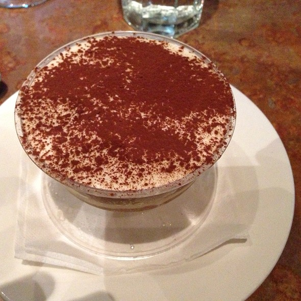 Tiramisu - Nundini Chef's Table, Houston, TX