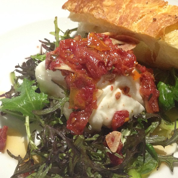Burrata, Tomato, Garlic, Thyme, Focaccia - DOC, Portland, OR
