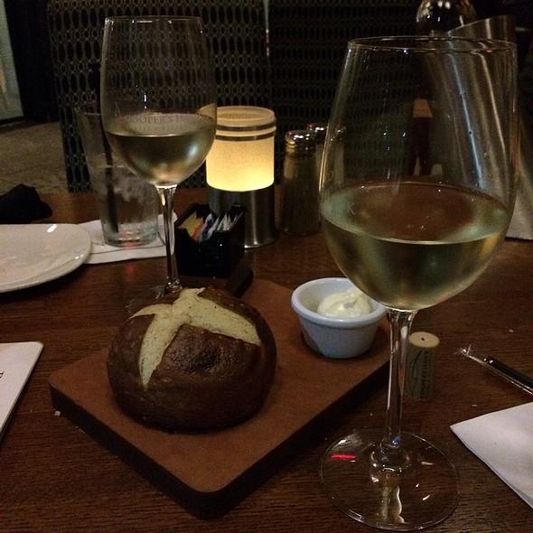 Pretzel Bread - Cooper's Hawk Winery & Restaurant - Tampa, Tampa, FL