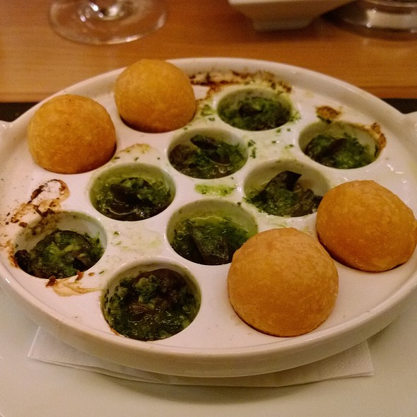 Burgundy Snails ( Escargots ) - Bar Boulud at Mandarin Oriental Hyde Park, London