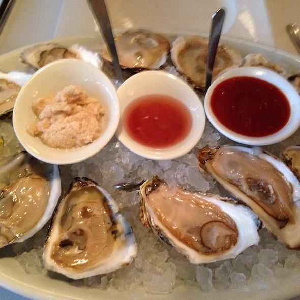 Oyster Tasting Plate - Oceanos Restaurant, Fair Lawn, NJ