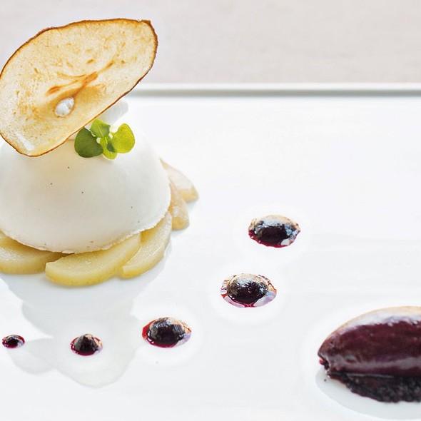 Spiced Pear Bavarian - Brabo - Lorien Hotel & Spa, Alexandria, VA