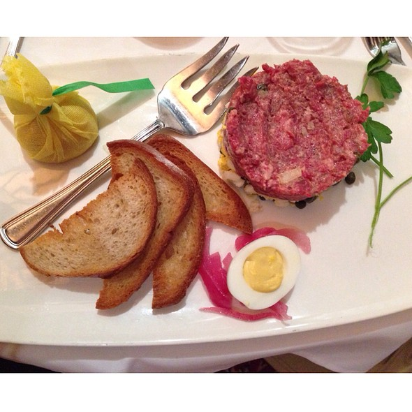 steak tartare - The Capital Grille - Burlington, Burlington, MA