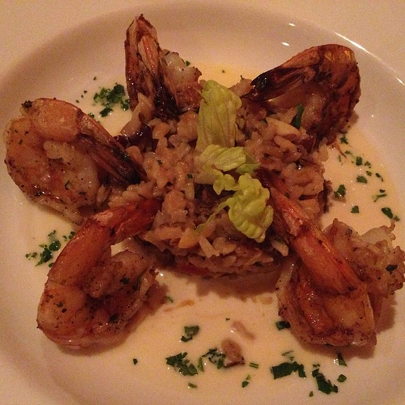 Sauteed Shrimp With Forbidden Rice - Bistrot Lepic & Wine Bar, Washington, DC