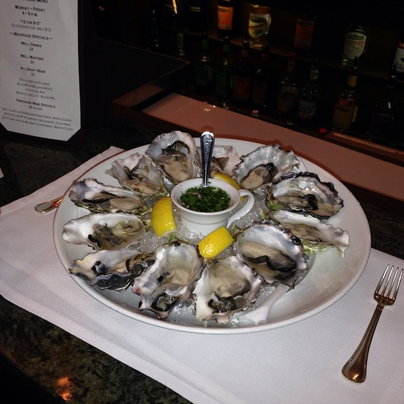 12 Oysters on the Half Shell - The Firehouse Restaurant, Sacramento, CA