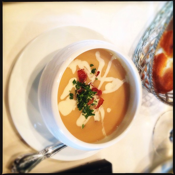 Lobster Bisque - Cafe Provence, Prairie Village, KS