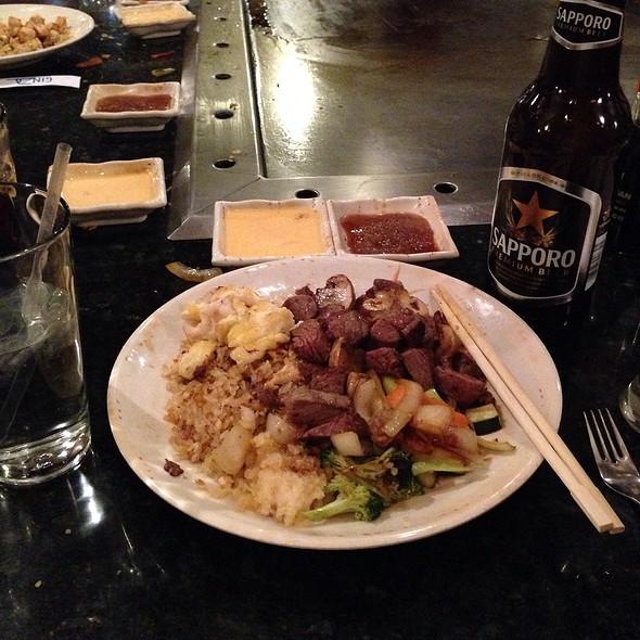 Fillet And Shrimp Hibachi - Ginza of Tokyo, Laurel, MD