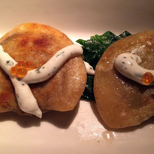 Braised Beef Short Ribs Pierogies - Linger, Denver, CO
